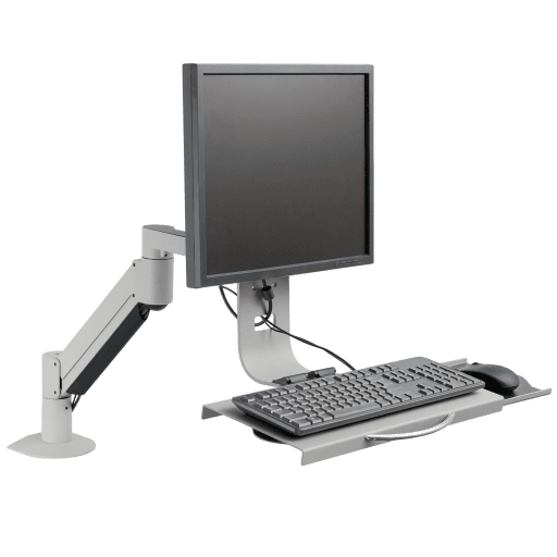 7509 Data Entry Monitor Arm And Keyboard Tray Innovative