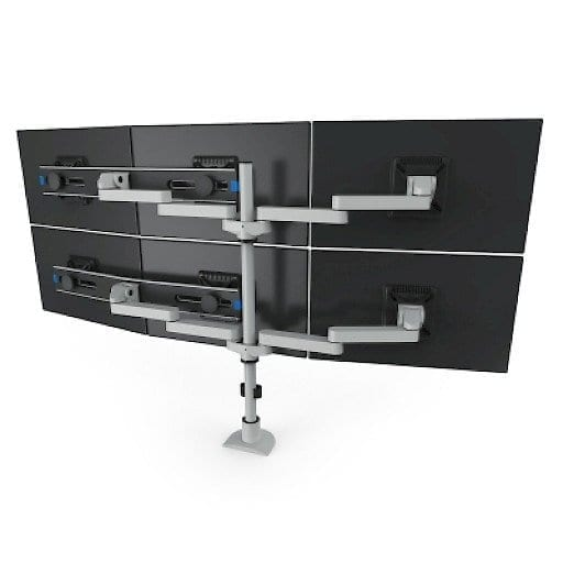 9163 Switch D Fm Two Tier Triple Monitor Mount Innovative