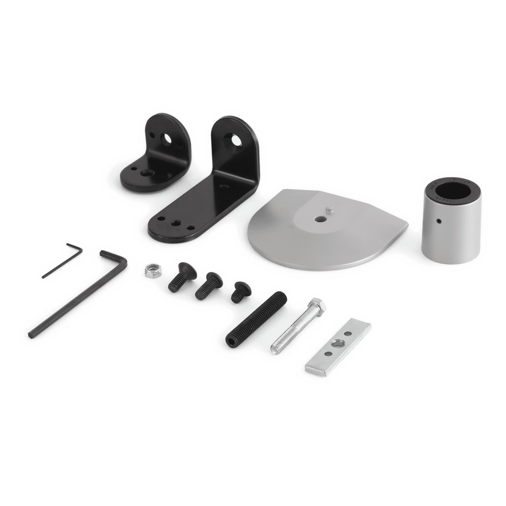 FLEXmount offers six mounting solutions in one kit